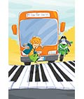 bus and piano