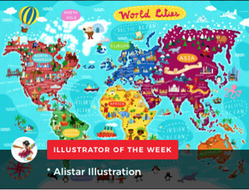 ALISTAR Illustrator of the week on Childrensillustrators.com!