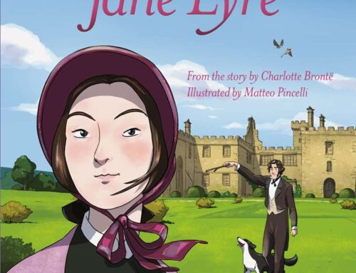 "USBORNE ENGLISH READERS ""JANE EYRE"" illustrated by Matteo Pincelli"
