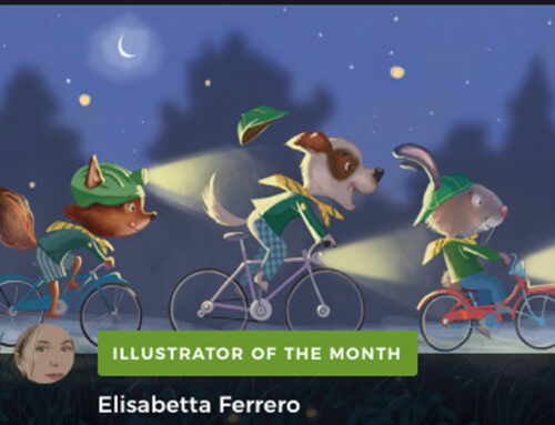 ELISABETTA FERRERO Illustrator of the Month!